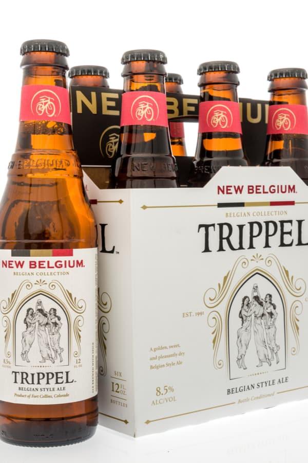 The New Belgium Trippel Belgian-Style Ale