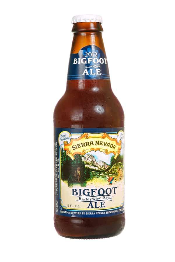 The Sierra Nevada Bigfoot Beer